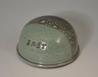 Salt Rock Salt Shaker, ceramic salt shaker, salt storage, salt cellar, handmade pottery, kitchen