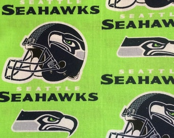 Seahawks small throw/quilt