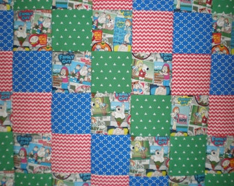 Family Guy  Patchwork  Quilt