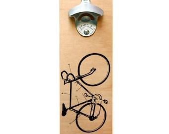 Wall-Mount bottle opener