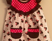 Minnie Mouse Opal Tunic w/ Ruffle Pockets Disney