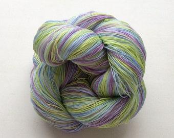 Spring-  Cotton 100% (2ply ,) handdyed yarn 100g