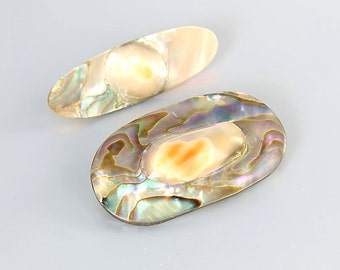 Blister Pearl Brooch, Victorian Antique jewelry Destash Lot of 2