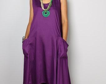 Purple Dress - Purple Halter Dress : Let's Party Collection 2015
