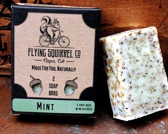 2-Pack Mint Natural Soap - Item# CPS_MINT_01