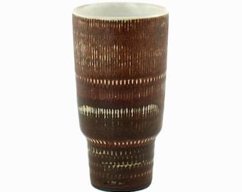 Vintage Hertha Bengtson for Rörstrand of Sweden Textured Vase