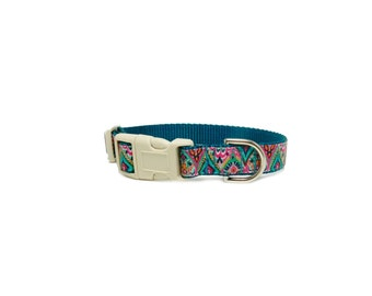 "Moroccan Dog Collar, Puppy Dog Collar, 1/2"" Wide"