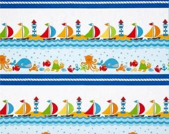 Seaside Holiday - Seaside Stripe from Benartex