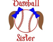 Baseball Sister-Pig Tails - Cut File - Instant Download - SVG Vector JPG for Cameo Silhouette Studio Software & other Cutter Machines