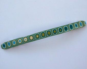 Handmade Barrette, polymer clay hair clip