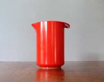 Vintage Mod Plastic Red Danish Modern Rosti Pitcher