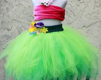 Lilo and Stitch Dress - Lilo and Stitch Costume - Hula Girl Costume - Luau Dress - Hawaiian Outfit - Hawaiian Costume