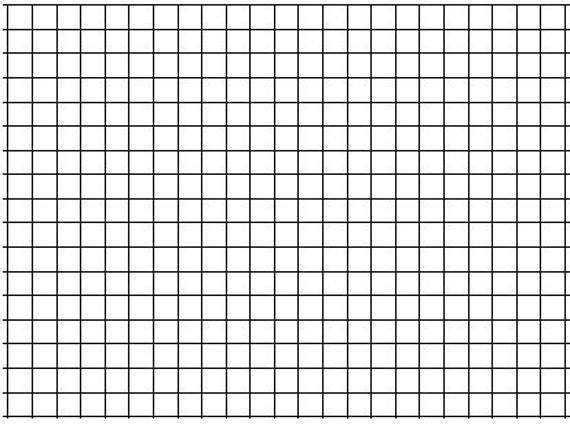 10 pack of large sheet format 1 graph paper 36 x