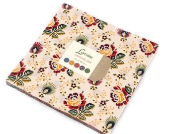 Lorraine cotton precuts layer cake by American Jane for moda fabric