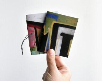 Graffiti art pocket notebook, mini notebooks, journal notebook, notebook set, mini journal, small notebook, blank notebook, photograph cover