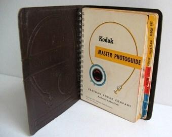 Kodak Master Photoguide Leather Bound Book Published 1951