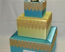 Arabian Nights/ Moroccan theme Card box-any colors