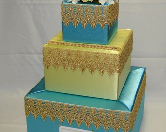 Arabian Nights/ Moroccan theme Card box-any colors
