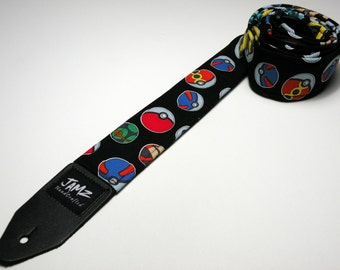 Popular anime handmade guitar strap - This is NOT a licensed product