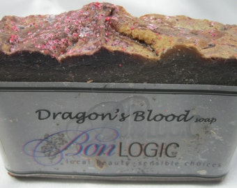 Dragon's Blood Scented Cold Processed Handmade Soap - Bestseller