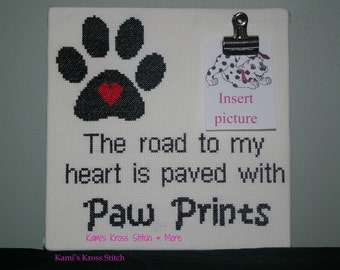 The road to my heart is paved with dog prints