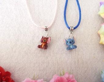 Lilo and Stitch Friendship Necklaces