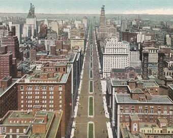 New York City 1920s Vintage Illustration digital download
