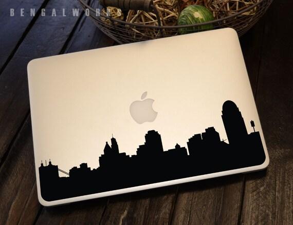 Cincinnati Skyline Macbook Decal 1 | Macbook Sticker | Laptop Decal | Laptop Sticker | Car Sticker