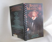 Barry Manilow Live on Broadway VHS notebook