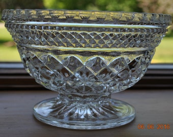 Anchor Hocking Wexford Candy Dish without Lid
