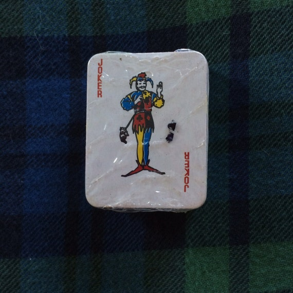 Miniature Playing Cards Deck From Chuck E Cheese 90s By
