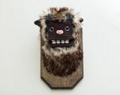 Mini Forest Yeti Trophy