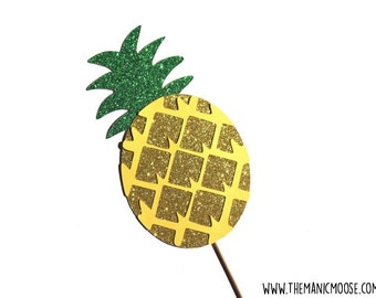 Pineapple Photo Prop ~ Photo Booth Props ~ GLITTER Photobooth Prop