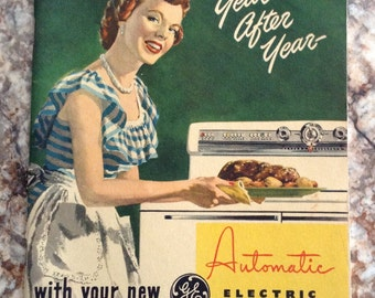 Vintage 1940 or 50 How to enjoy your new automatic electric range