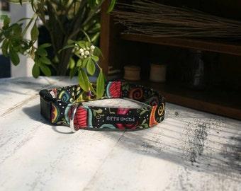 Black gypsy bandana collar
