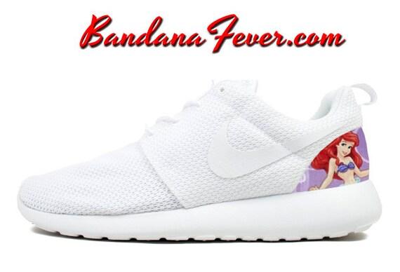 cheap Nike The Little Mermaid Roshe Run Women s by BandanaFeverDesigns 34a5fb49f