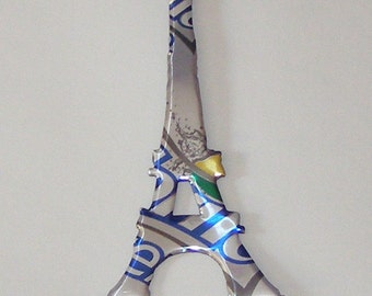 Eiffel Tower Magnet - Diet Sprite Zero  Soda Can