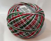Lizbeth Tatting Thread - Christmas Delight Variegated - Color #116 - Size 20 - Handy Hands - Your Choice of Amount