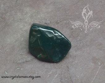 Bloodstone Tumbled Gemstone Crystal - 1 piece Large Size (BLS0043), Blockage, Trauma, Grief, Abundance, Base Chakra