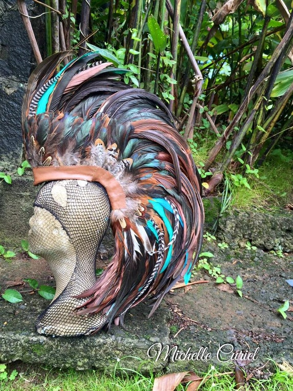 Reserved for Sesilie - Naiades  - Custom Feather Mohawk