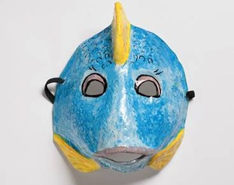 paper mask fish mask