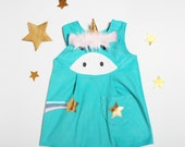 Unicorn dress up play dress