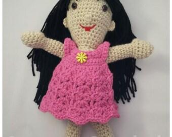 Crocheted Amigurumi Handmade Doll