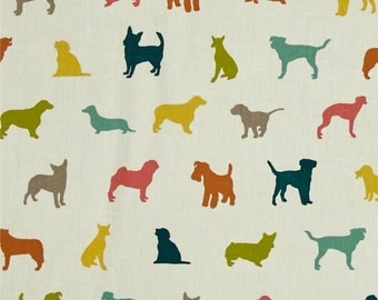 The Dog Show Multi From Birch Organic Fabric's Farm Fresh Collection by Jay-Cyn Designs