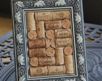 Wine Cork Board Desk Top Memo Board