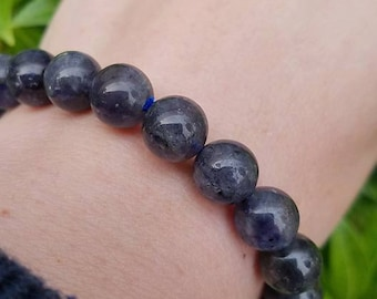 Iolite bracelet~Cordierite~The Stone of Vision~Boosts imagination