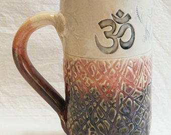 Om mug 20oz ceramic coffee mug 20C031