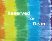 Reserved for Dean