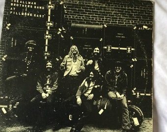 The Allman Brothers The Allman Brothers Live At Fillmore East on Capricorn Records 1971 Capricorn labels