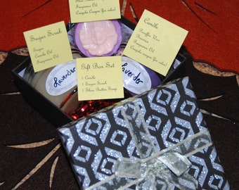Pamper Yourself Lavender Gift Box